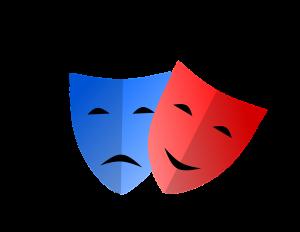 masks, emotion, mardi gras