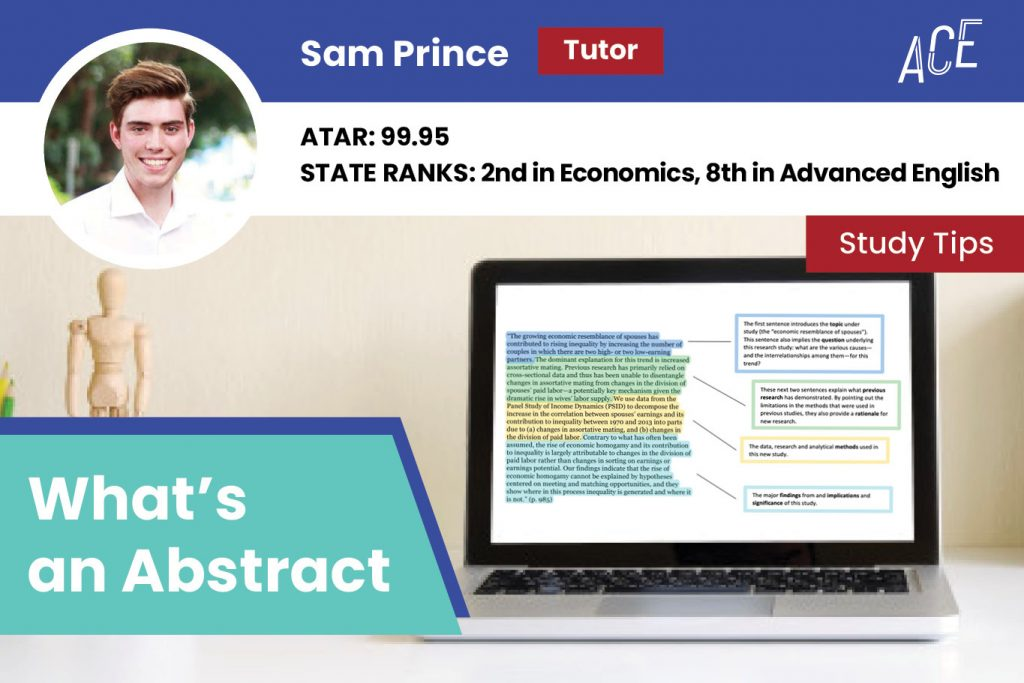 ace hsc sam prince whats an abstract blog feature image