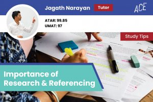 ace hsc jagath the importance of research and referencing blog feature image