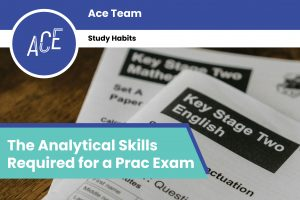 ace hsc the analytical skills required for a prac exam blog feature image